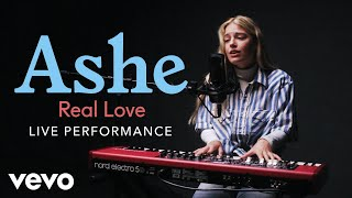 "Ashe - Ashe - ""real Love"" Live Performance 