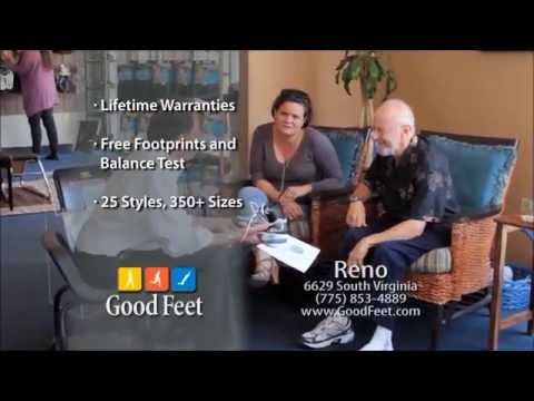 Good Feet Reno for Foot pain relief