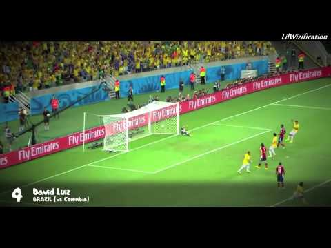 2014 FIFA World Cup Top 10 Goals! (Nevrmynd -