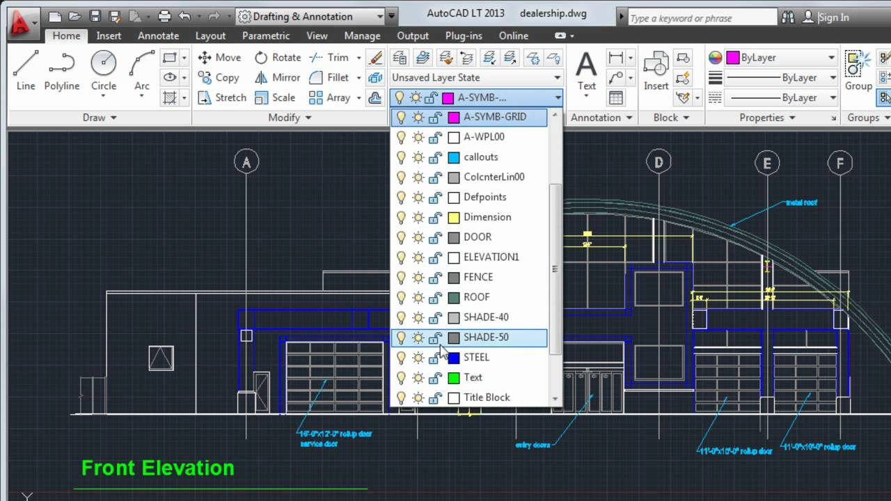 how to add dimensions in autocad 2018