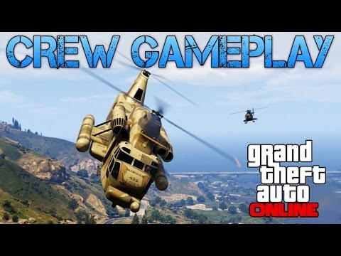 Grand Theft Auto Online | PLAYING WITH CREW MEMBERS | FREE ROAM + CAR & PLANE RACES