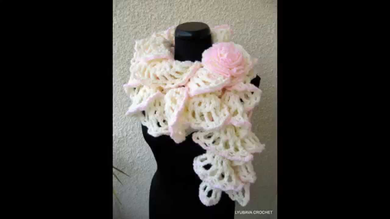Youtube Crocheting A Scarf : Crochet Scarf Patterns - YouTube