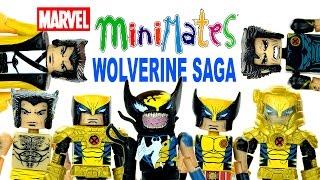 Marvel Minimates The Wolverine Saga SDCC 2013 Exclusive
