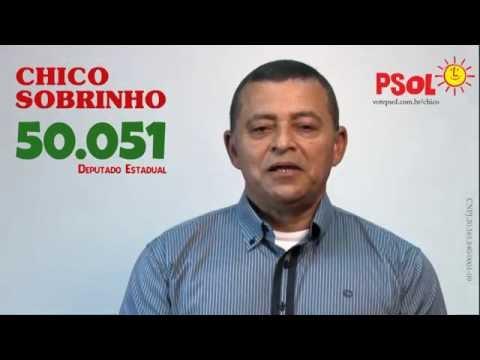 [Chico Sobrinho para dep. estadual - 50051 com Eneida para dep. federal - 5009 ]