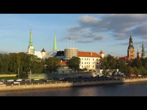 Canon PowerShot SX240 HS castle after fire test shot Riga Latvia