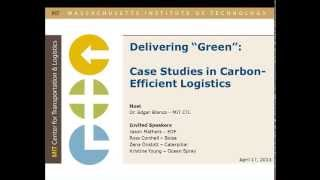 Delivering Green: Three Case Studies in Carbon-Efficient Logistics