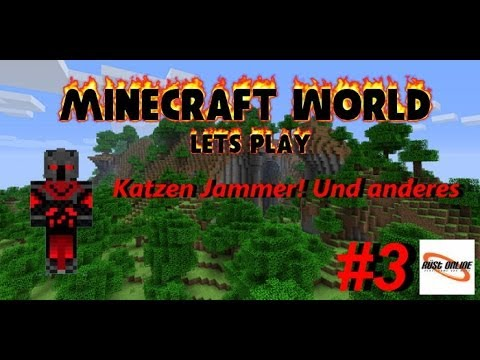 Minecraft World #3 Katzen Jammer!