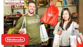 Nintendo HQ Store Shopping Spree Showdown – Nintendo Minute