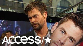 'Avengers: Infinity War': Chris Hemsworth Talks Surfing Injury & That Epic Jump Rope Video   Access