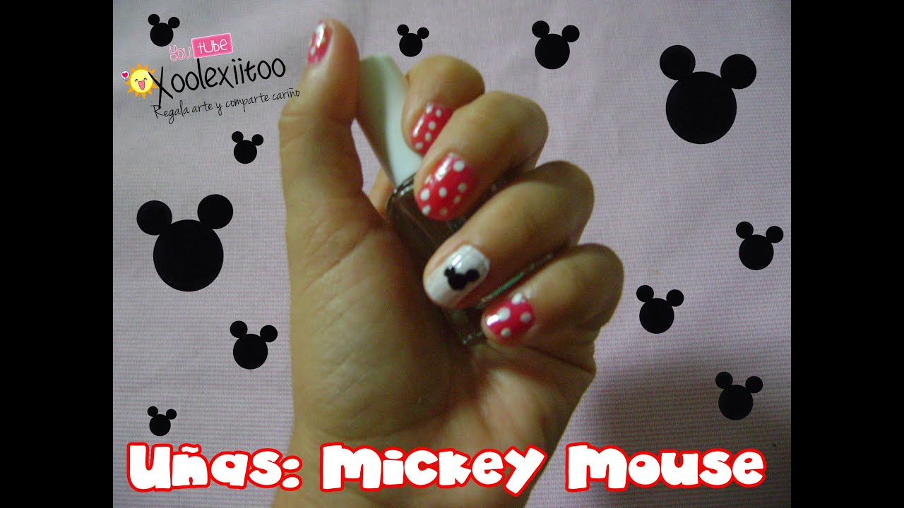 Dorable Mickey Y Minnie Arte De Uñas De Ratón Fotos - Ideas de ...