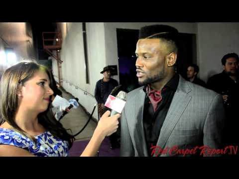 Walter Thurmond at the #NUVOtvCollective #NuPointOfView launch party @WaltThurm3