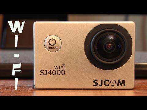 Воспроизведение потокового видео с SJ4000wifi
