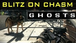 CoD GHOSTS Gameplay - Blitz On Chasm + Q&A