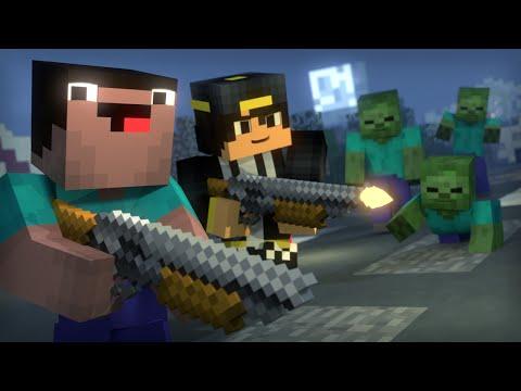Blocking Dead: Part 2 (Minecraft Animation) [Hypixel]