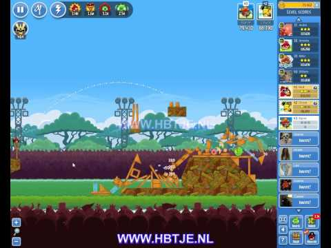 Angry Birds Friends Tournament Level 6 Week 101 (tournament 6) no power-ups
