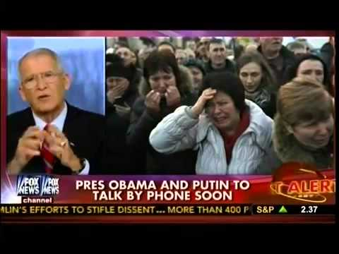 Obama & Putin To Talk About Ukraine   Oliver North  Compares Obama & Reagan   The Real Story