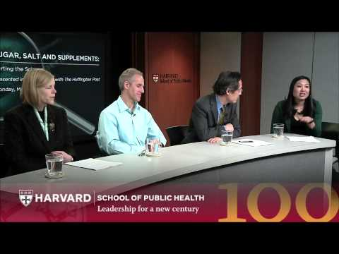 Sugar, Salt & Supplements: Sorting the Science | The Forum at HSPH