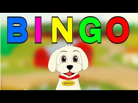 Bingo! (recorded by Patty Shukla) - Nursery rhyme - Cartoon Animated Rhymes and Songs for Children