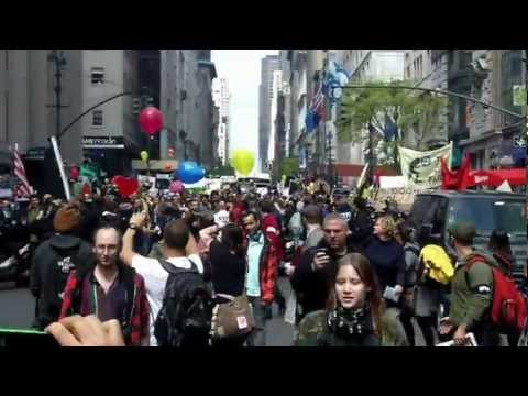 May Day General Strike March from Bryant Park to Union Square - Occupy Wall Street