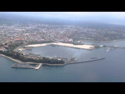 View from Malabo City...Una mirada de la Ciudad de Malabo.