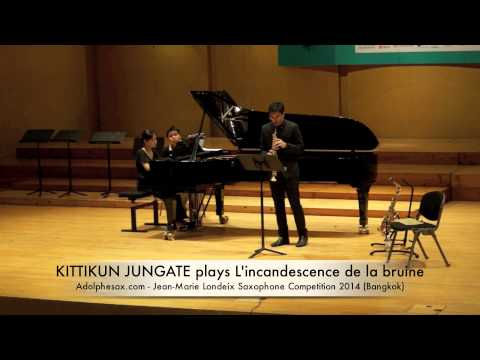 KITTIKUN JUNGATE plays L'incandescence de la bruine by Bruno Mantovani