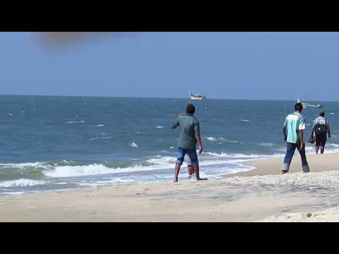 Kerala Alappuzha beach  HD Video 1080p