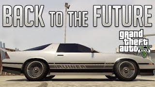 Back To The Future Delorean (Imponte Ruiner) : GTA V