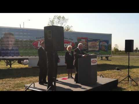 Gov. Mike Pence remarks at Land O'Frost Groundbreaking