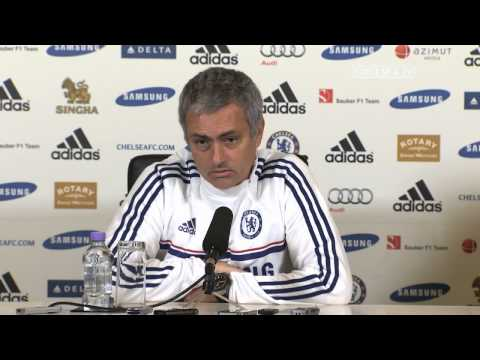 Press Conference: Mourinho Pre Manchester City