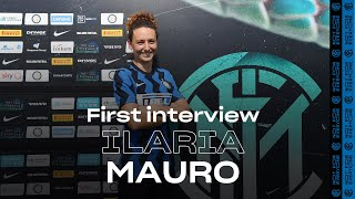 ILARIA MAURO | INTER WOMEN 20/21 | Exclusive first Inter TV Interview | #WelcomeIlaria ⚫️🔵? [SUB ENG]