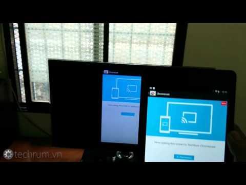 Dùng thử tính năng xuất màn hình lên TV qua Chromecast mới