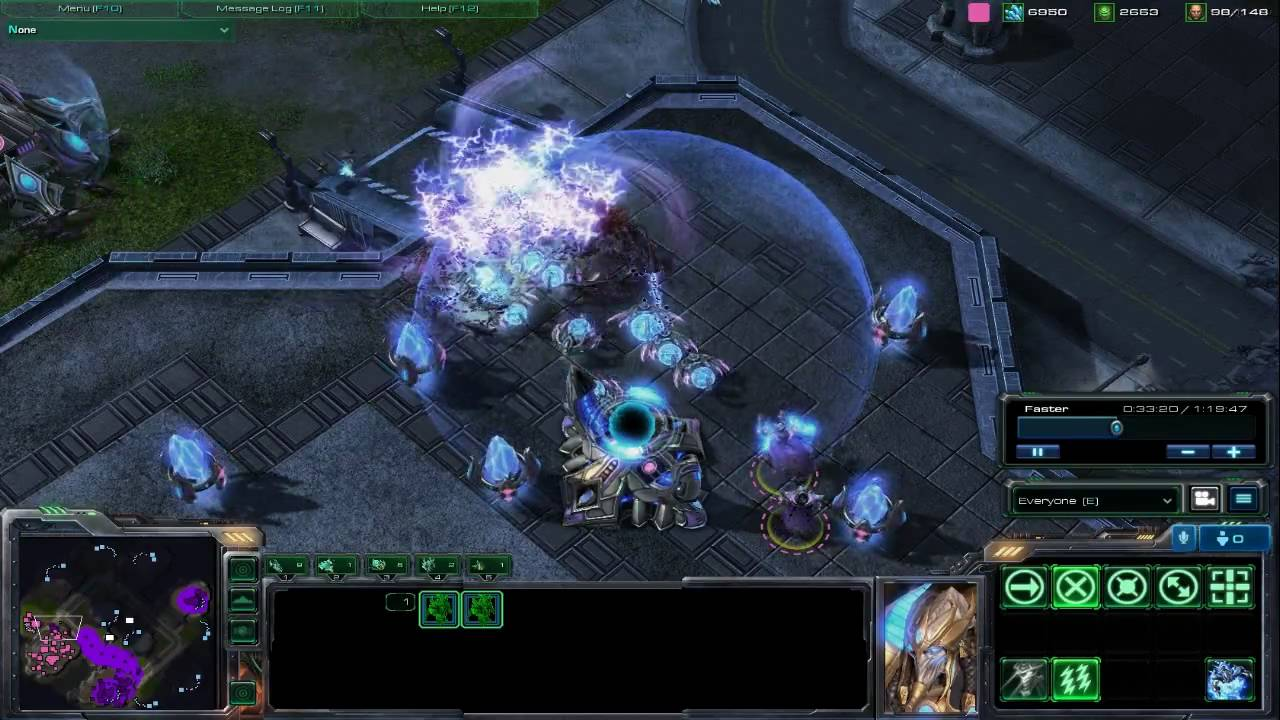 Protoss Starcraft 2 Wings of Liberty YouTube