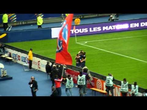 PSG - Lyon - Finale coupe de la ligue 2014 - 2/3