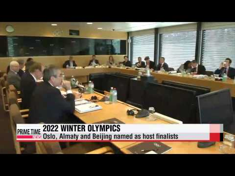 Olympics: Oslo, Almaty and Beijing named 2022 Winter Games finalists