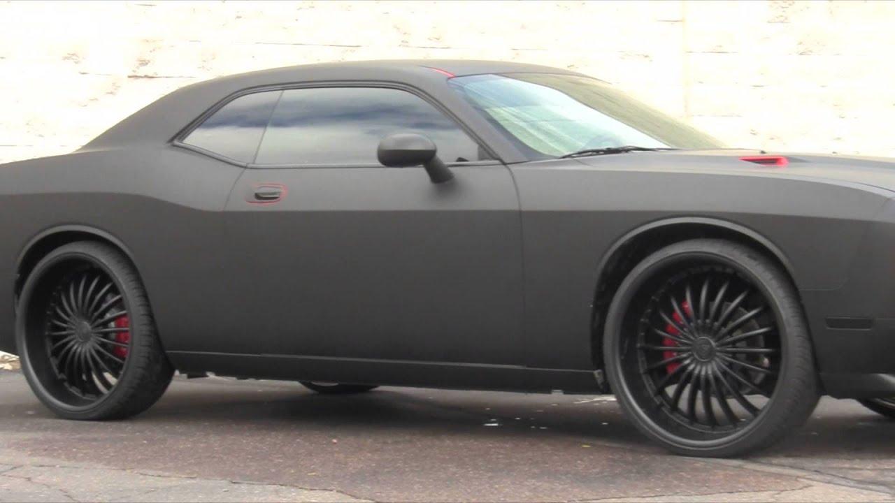 Dodge Challenger 1970 Matte Black Matte Black Dodge Challenger