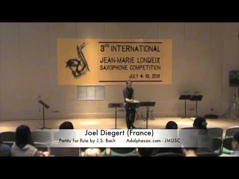 3rd JMLISC: Joel Diegert (France) Partita for flute by J.S. Bach