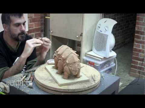 HOW TO SCULPT OTTO MUTHR AND EVA NINE FROM WONDLA BY TONY DITERLIZZI - MONSTER MONTH - DAY 22