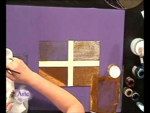 Cómo decorar con texturas sobre vidrio con lacas vitrales