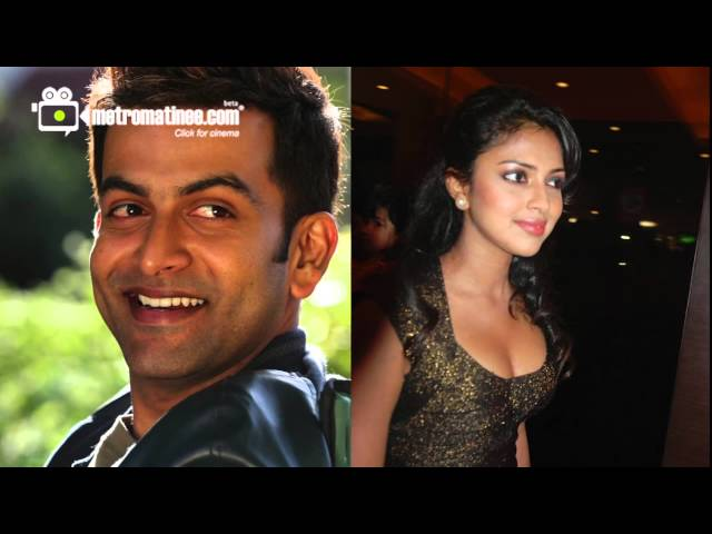 Prithviraj , Amala Paul in Sugeeth Film