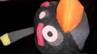 Angry Bird En Goma Espuma