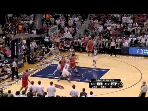 NBA Playoffs 2011: Atlanta Hawks Vs Chicago Bulls Game 4 Highlights (2-2)