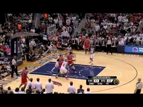 NBA Playoffs 2011: Atlanta Hawks Vs Chicago Bulls Game 4 Highlights (2-2)