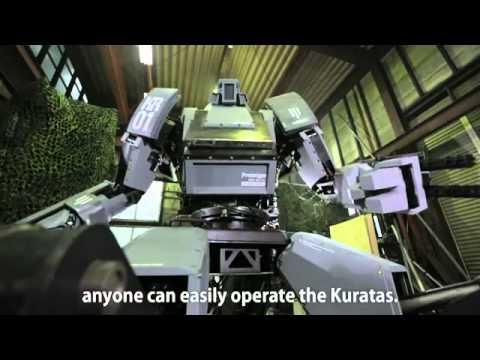 Công ty Nhật Bản giới thiệu robot chiến đấu khổng lồ