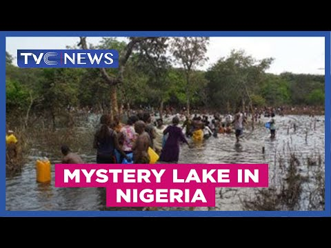 Mystery Lake in Nigeria