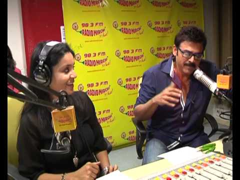 Spicy MASALA at RadioMirchi with Victory Venkatesh by RjBhargavi