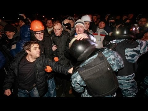 Kiev Ukraine Protest 2014 LIVE Explosions | Protesters Clashes With Police | 14 People Dead