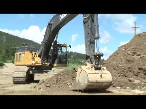 John Deere Construction Equipment, sales & testimonial video production