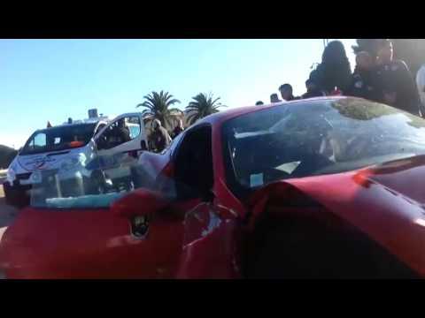 L'accident du footballeur M'Baye Niang en Ferrari