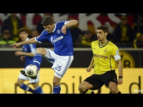Borussia Dortmund - FC Schalke 04 0-0 | Bundesliga 27. Spieltag | 25.03.2014 | Fifa