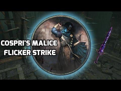 [Path of Exile] Cospri's Malice Flicker Strike